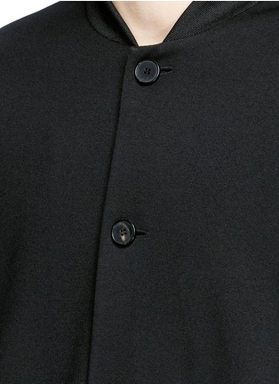 Detail View - Click To Enlarge - McQ Alexander McQueen - Jersey blouson jacket