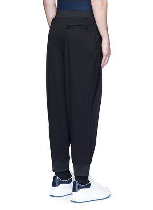 Back View - Click To Enlarge - McQ Alexander McQueen - 'Murphy' pleated sweatpants
