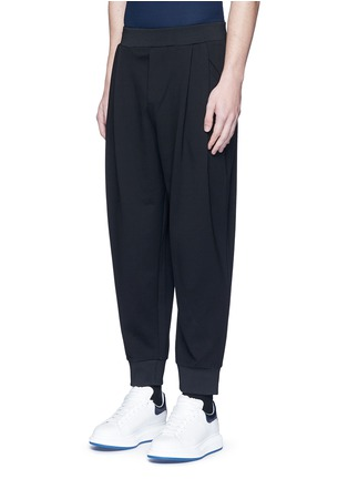 Front View - Click To Enlarge - McQ Alexander McQueen - 'Murphy' pleated sweatpants