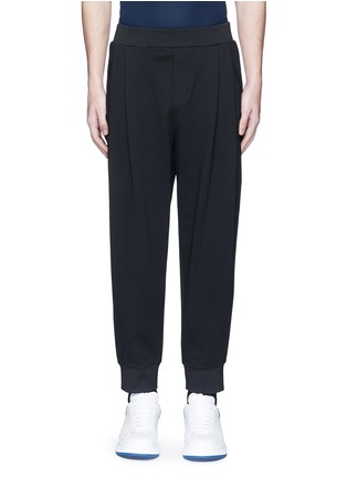 Main View - Click To Enlarge - McQ Alexander McQueen - 'Murphy' pleated sweatpants