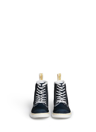 Figure View - Click To Enlarge - DR. MARTENS - 'Brooklee' canvas toddler boots
