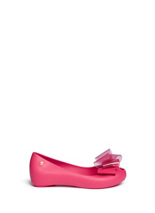 Main View - Click To Enlarge - Melissa - 'Ultragirl Sweet Ballerina' bow kids flats