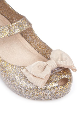 Detail View - Click To Enlarge - Melissa - 'Ultra Sweet' bow toddler Mary Jane flats