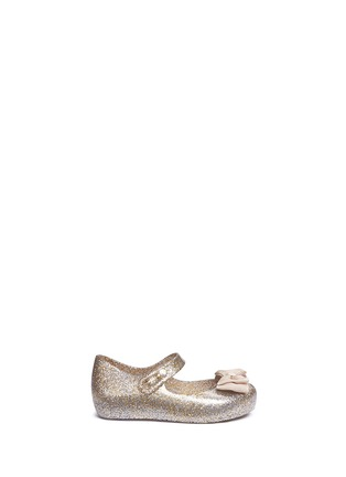 Main View - Click To Enlarge - Melissa - 'Ultra Sweet' bow toddler Mary Jane flats