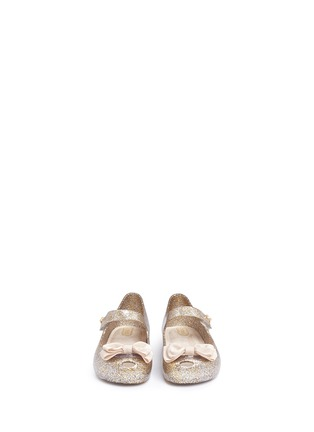 Figure View - Click To Enlarge - MELISSA - 'Ultra Sweet' bow toddler Mary Jane flats