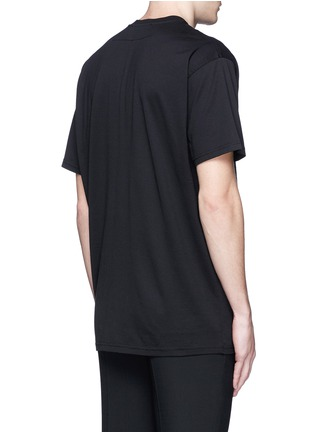 Back View - Click To Enlarge - GIVENCHY - Jesus print cotton T-shirt