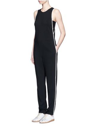 Figure View - Click To Enlarge - rag & bone - 'Luna' contrast seam jumpsuit