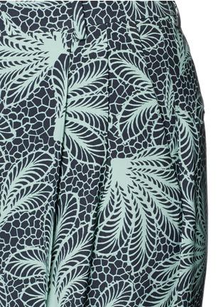 Detail View - Click To Enlarge - Dries Van Noten - 'Page' floral print wide leg crepe pants