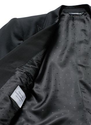 - Dolce & Gabbana - Satin peak lapel wool-silk tuxedo blazer and waistcoat set