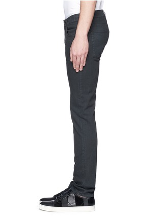Detail View - Click To Enlarge - - - Garment dyed stretch jeans