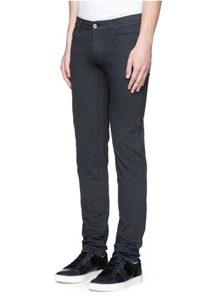 Front View - Click To Enlarge - - - Garment dyed stretch jeans