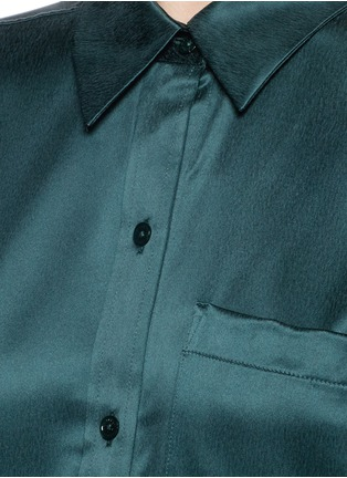 Detail View - Click To Enlarge - Equipment - 'Daddy' silk shirt