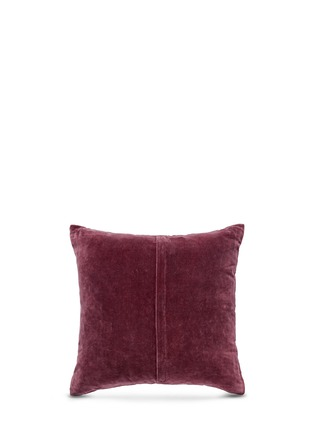 Figure View - Click To Enlarge - Etro - Montrose Foss bead paisley embroidery velvet cushion