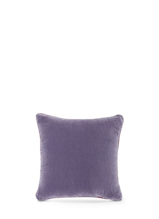 Figure View - Click To Enlarge - Etro - Morlaix Quintin paisley print velvet cushion