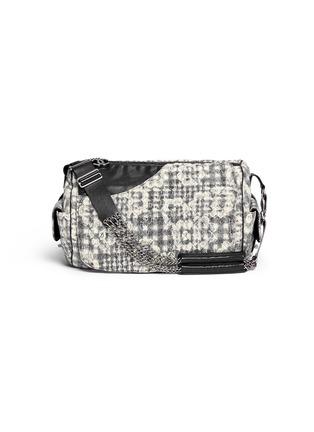 Main View - Click To Enlarge - Vintage Chanel - Bouclé lace barrel bag
