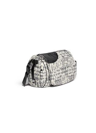 Figure View - Click To Enlarge - Vintage Chanel - Bouclé lace barrel bag