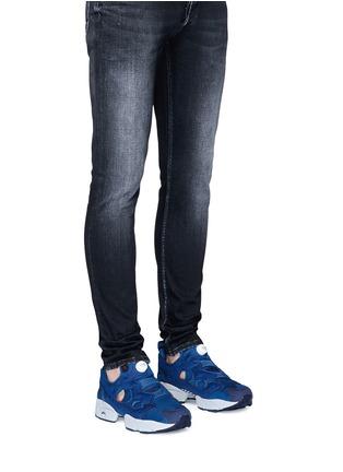 Figure View - Click To Enlarge - Reebok - 'InstaPump Fury SP' slip-on sneakers