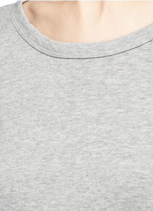 Detail View - Click To Enlarge - JAMES PERSE - Raglan sleeve Supima® cotton sweatshirt