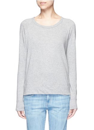 Main View - Click To Enlarge - James Perse - Raglan sleeve Supima® cotton sweatshirt