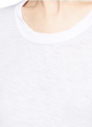 Detail View - Click To Enlarge - James Perse - Cotton slub jersey T-shirt