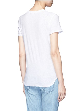 Back View - Click To Enlarge - James Perse - Cotton slub jersey T-shirt