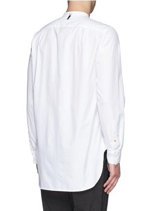 Back View - Click To Enlarge - rag & bone - 'Mulholland' mandarin collar shirt