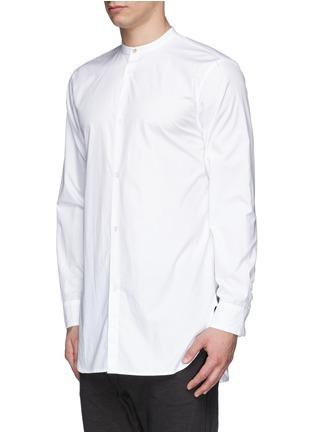 Front View - Click To Enlarge - rag & bone - 'Mulholland' mandarin collar shirt