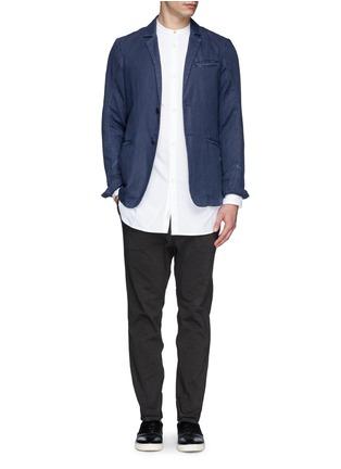 Figure View - Click To Enlarge - rag & bone - 'Mulholland' mandarin collar shirt