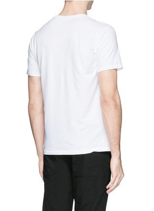 Back View - Click To Enlarge - rag & bone - 'Moto Bike' print cotton T-shirt