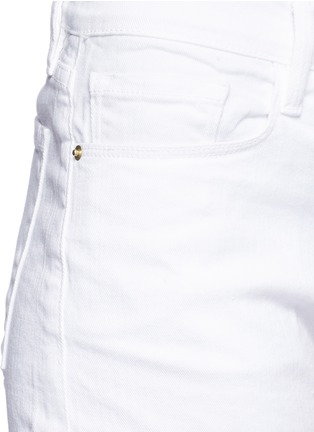Detail View - Click To Enlarge - Frame Denim - 'Le Cutoff' denim shorts