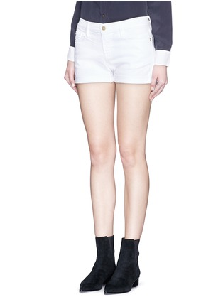 Front View - Click To Enlarge - Frame Denim - 'Le Cutoff' denim shorts