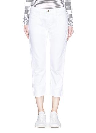 Detail View - Click To Enlarge - Frame Denim - 'LE GRAND GARÇON' cotton jeans