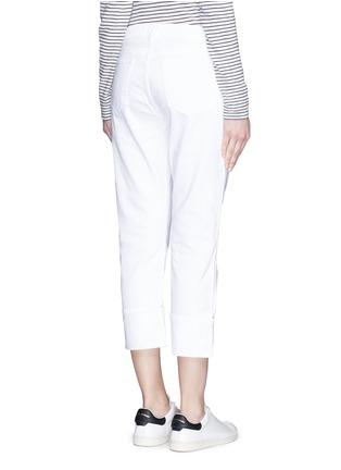 Back View - Click To Enlarge - Frame Denim - 'LE GRAND GARÇON' cotton jeans