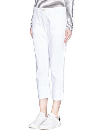 Front View - Click To Enlarge - Frame Denim - 'LE GRAND GARÇON' cotton jeans