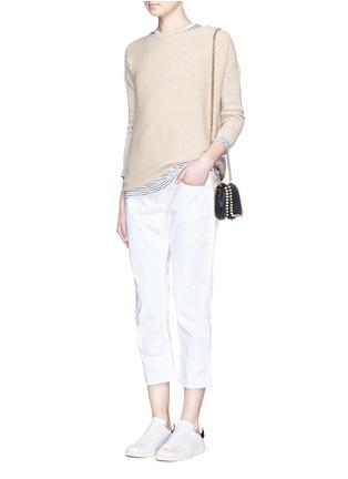 Figure View - Click To Enlarge - Frame Denim - 'LE GRAND GARÇON' cotton jeans