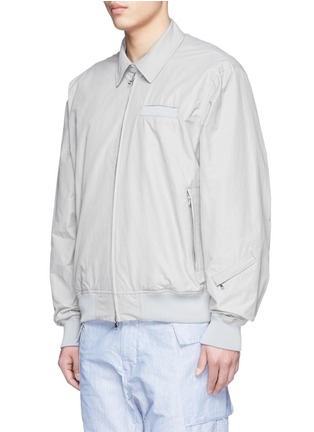 Front View - Click To Enlarge - NANAMICA - Drill cross wind jacket