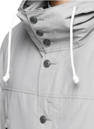 Detail View - Click To Enlarge - nanamica - Windbreaker cruiser jacket