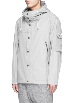 Front View - Click To Enlarge - nanamica - Windbreaker cruiser jacket