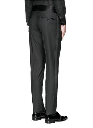 Back View - Click To Enlarge - Dolce & Gabbana - Satin cummerbund tuxedo pants