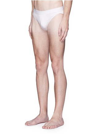 Figure View - Click To Enlarge - ZIMMERLI - '700 Pureness' jersey briefs