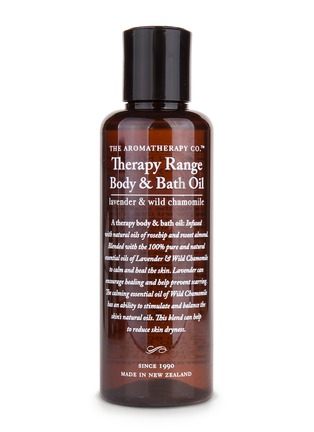 Main View - Click To Enlarge - The Aromatherapy Company - Lavender and wild chamomile body and bath oil