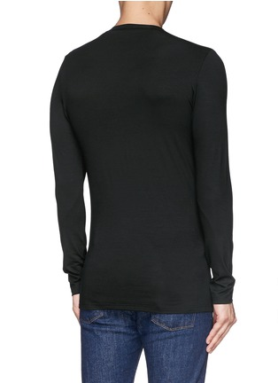 Back View - Click To Enlarge - Zimmerli - '700 Pureness' jersey undershirt