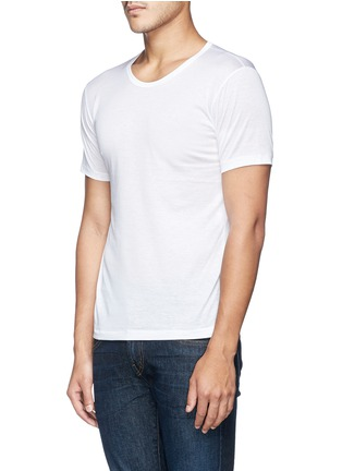 Front View - Click To Enlarge - Zimmerli - 252 Royal Classic' cotton undershirt