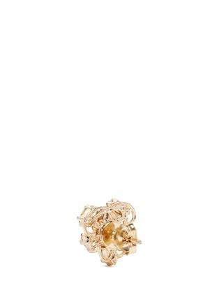 Detail View - Click To Enlarge - Anton Heunis - Swarovski crystal pearl stud earrings