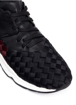 Detail View - Click To Enlarge - ASH - 'Match' dégrade woven sneakers