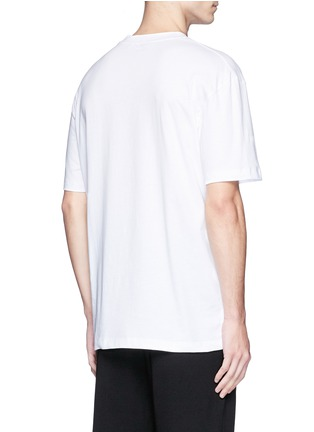 Back View - Click To Enlarge - McQ Alexander McQueen - 'Swallow' slogan print T-shirt