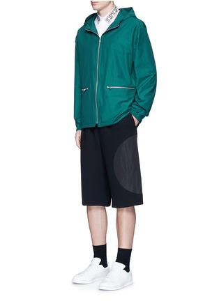 Figure View - Click To Enlarge - McQ Alexander McQueen - Logo collar cotton shirt