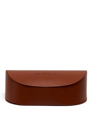 Detail View - Click To Enlarge - Oliver Peoples - 'Josa' acetate trim metal cat eye sunglasses