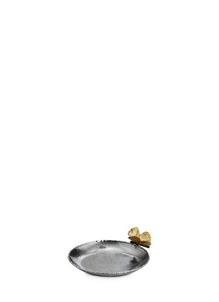 Main View - Click To Enlarge - Michael Aram - Butterfly Gingko round trinket tray