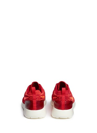 Back View - Click To Enlarge - Nike - 'Roshe Flyknit' sneakers